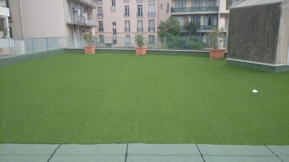 Tanch it et isolation toitures terrasses marseille d m paca - Toiture terrasse vegetalisee ...