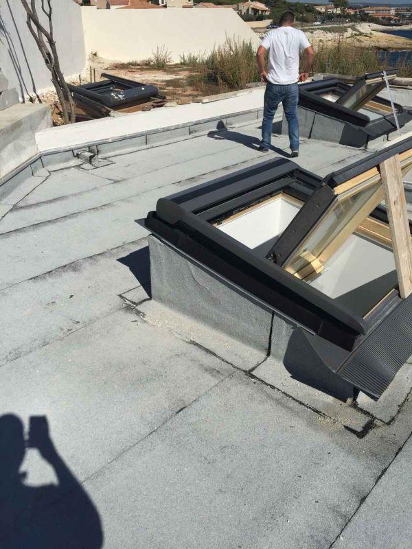etanch it de la toiture d 39 un boomker isolation toitures terrasses marseille d m paca. Black Bedroom Furniture Sets. Home Design Ideas